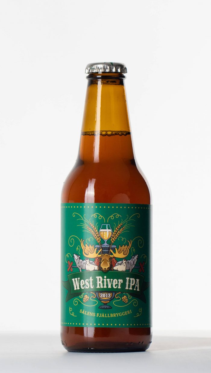 west river ipa flaska, beer bottle