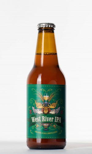 west river ipa flaska